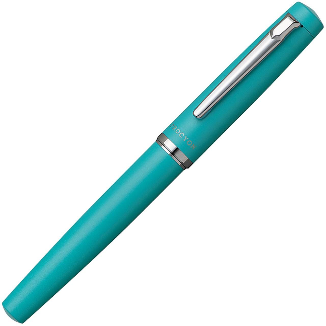 Platinum PROCYON Fountain Pen Turquoise blue M