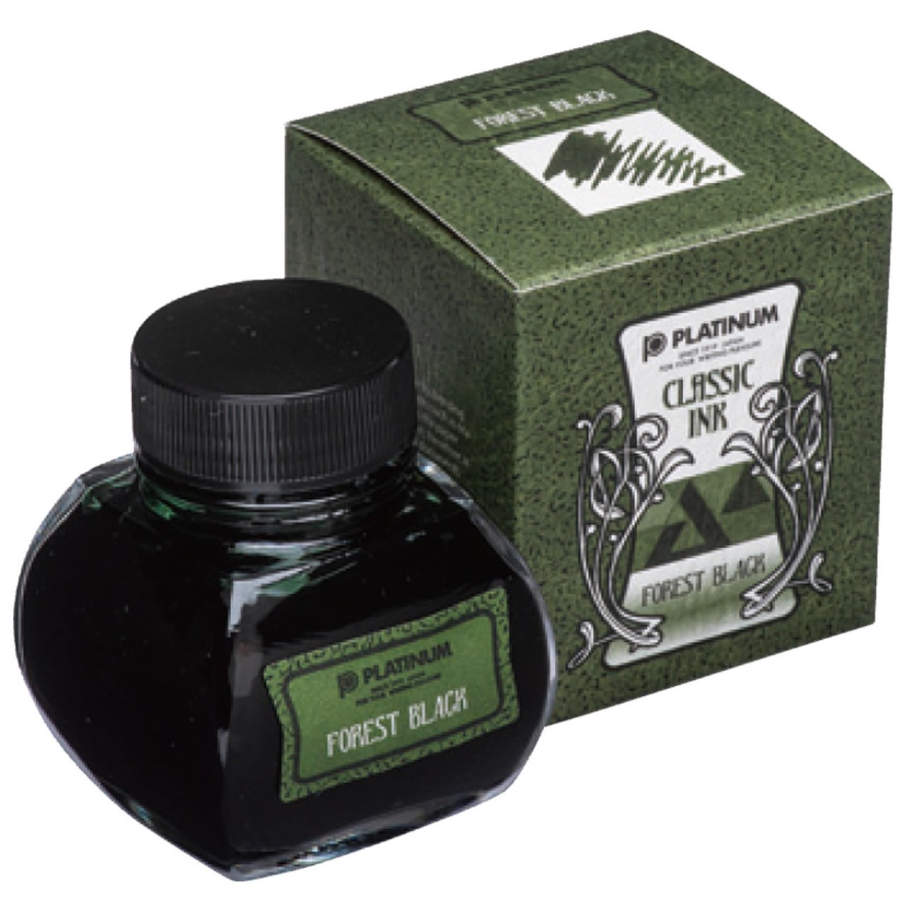 Platinum Dyestuff 'Classic Ink' Forest Black