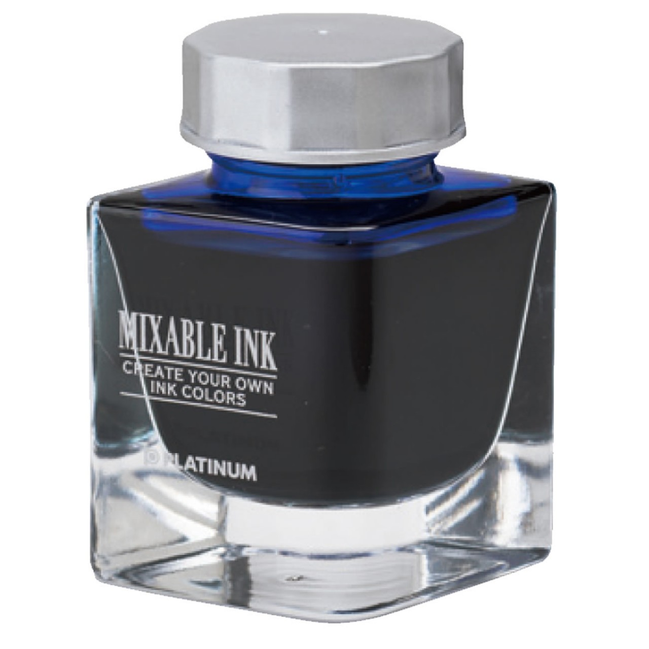 Platinum Dyestuff 'Mixable' bottle ink 20cc Aurora Blue
