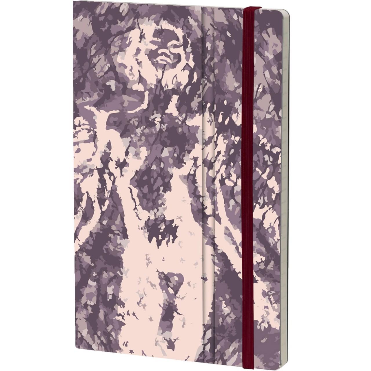 Stifflex Notizbuch PAINT - FRAGMENTATION 13 x 21 cm 192 S., AMGELO ROSE