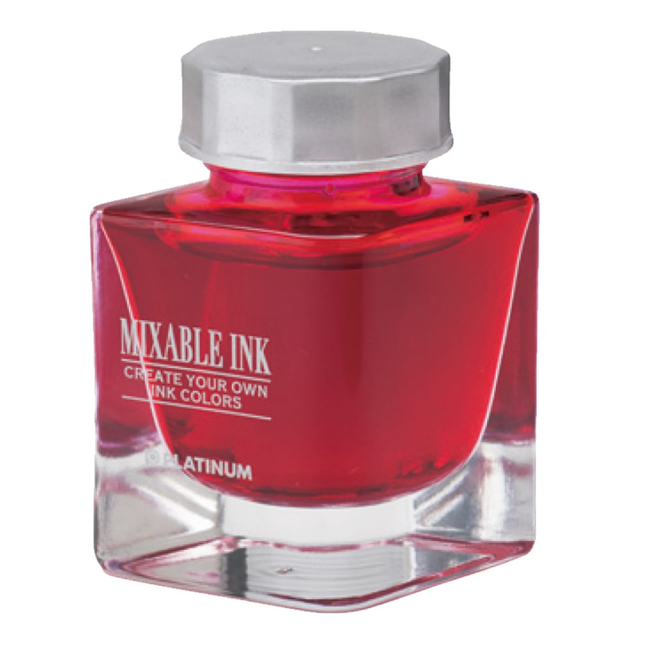 Platinum Dyestuff 'Mixable' bottle ink 20cc Cyclamen Pink