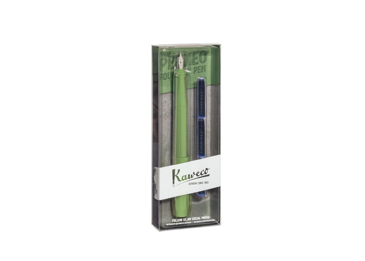 Kaweco PERKEO Füllhalter Jungle Green F Blister (neu)