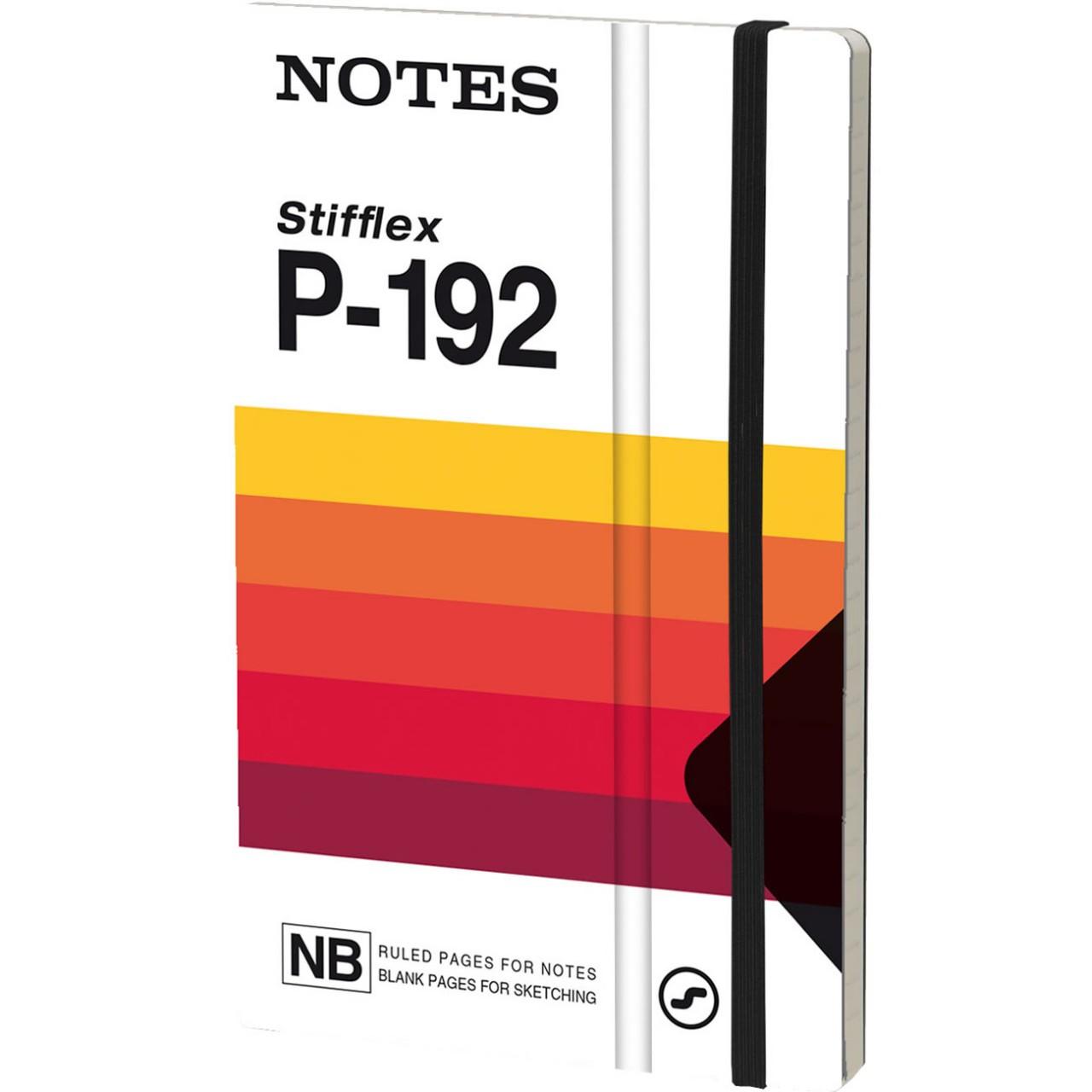 Stifflex Notizbuch VHS 13 x 21 cm 192 S., SON