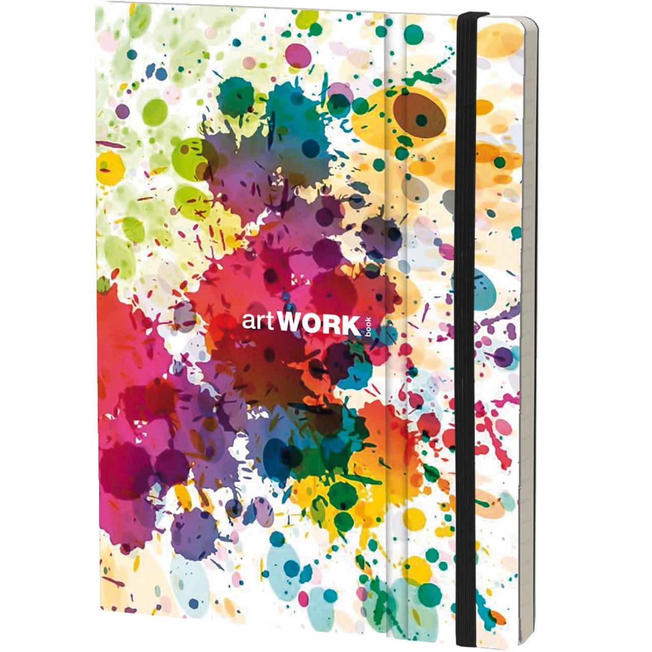 Stifflex Notizbuch ARTWORK BOOK 15 x 21 cm 192 S., COLOR SPLASH