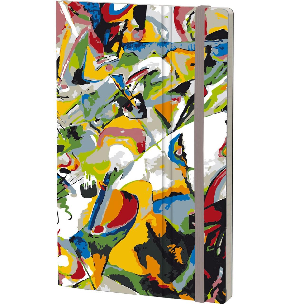 Stifflex Notizbuch ART 13 x 21 cm 192 S., KANDINSKY
