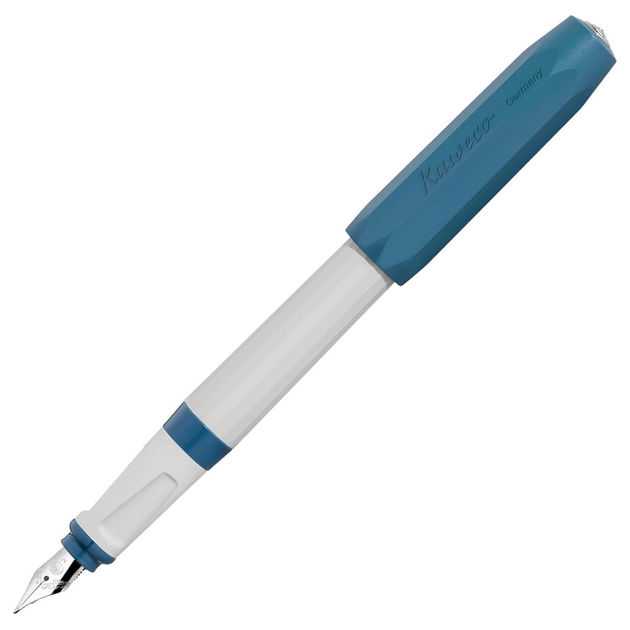 Kaweco PERKEO Füllhalter F Old Chambrey blau grau
