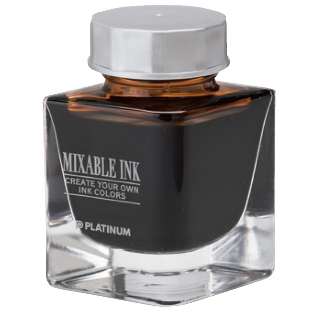 Platinum Dyestuff 'Mixable' bottle ink 20cc Earth brown