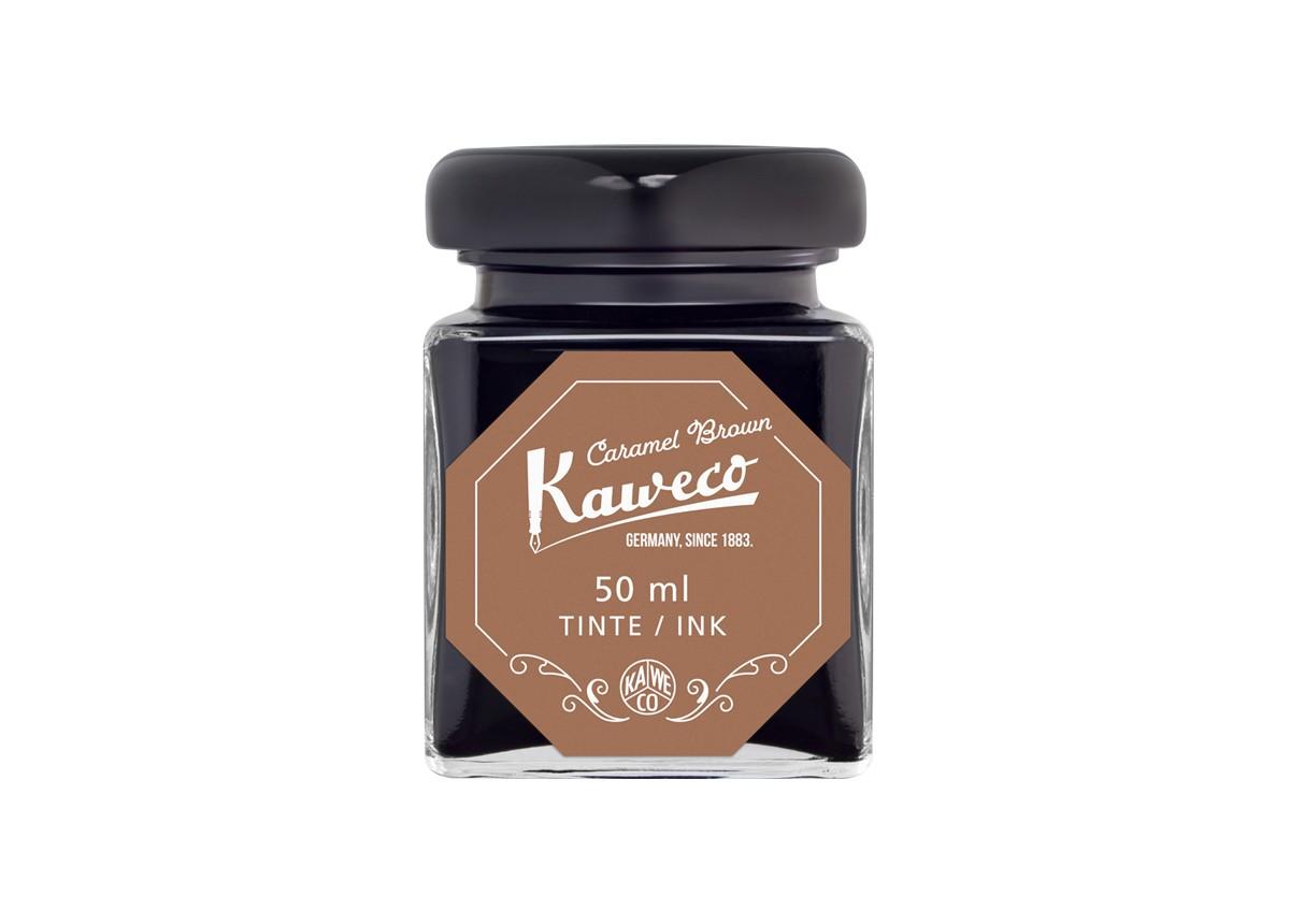 Kaweco Tintenglas 50 ml caramelbraun