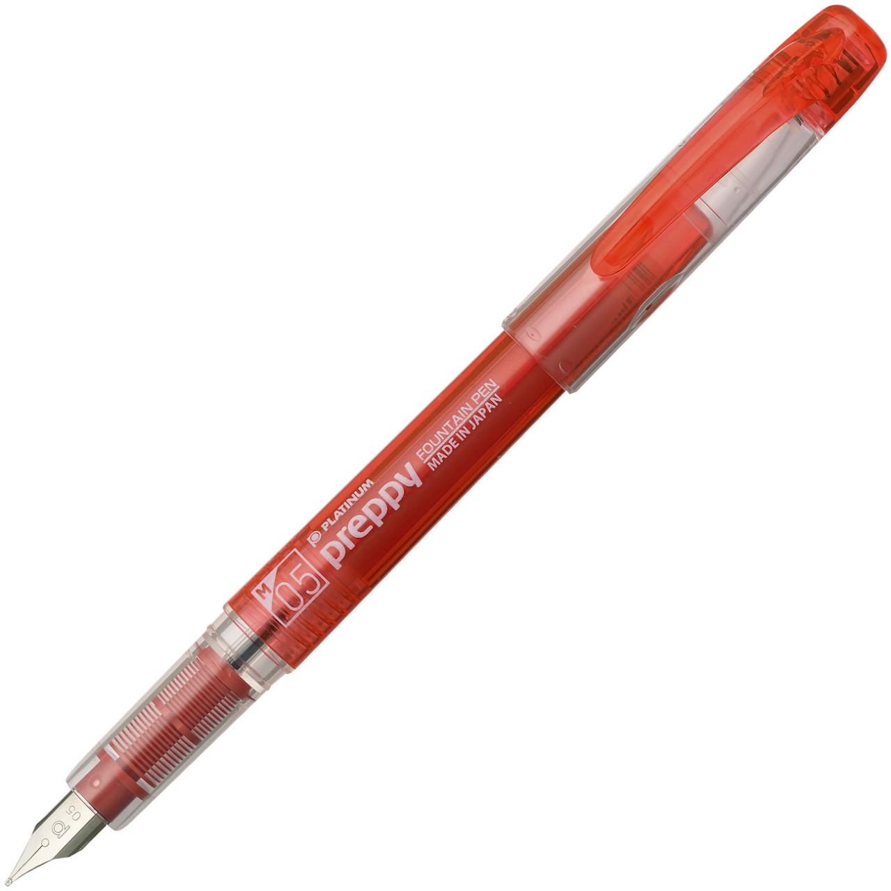 Platinum Preppy Fountain pen Red M