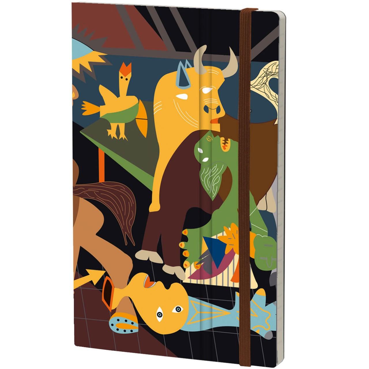 Stifflex Notizbuch ART 9 x 14 cm 144 S., PICASSO