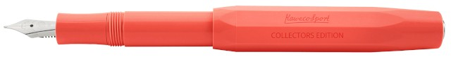 Kaweco Sport Fountain Pen Collectors Edition Coral M