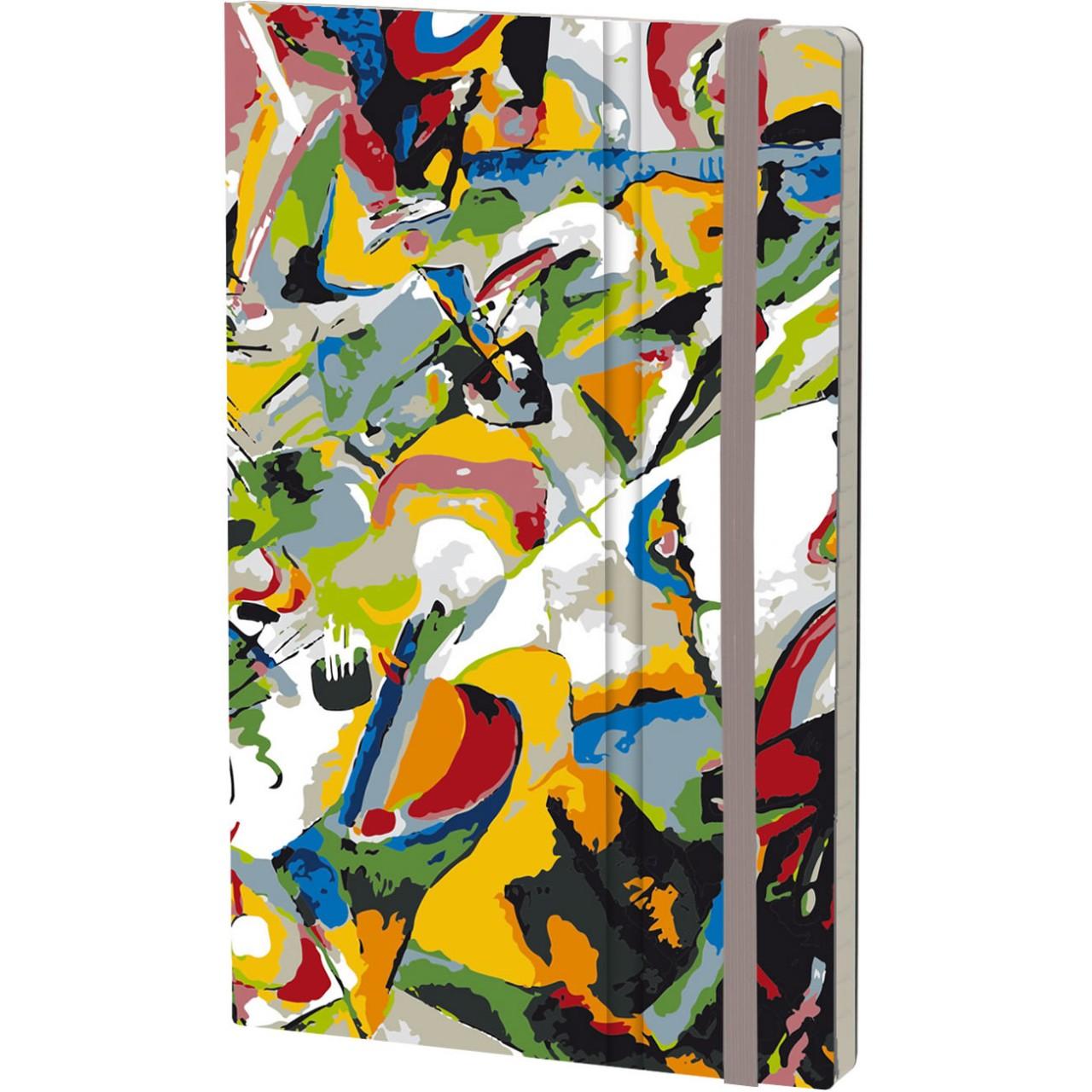 Stifflex Notizbuch ART 9 x 14 cm 144 S., KANDINSKY