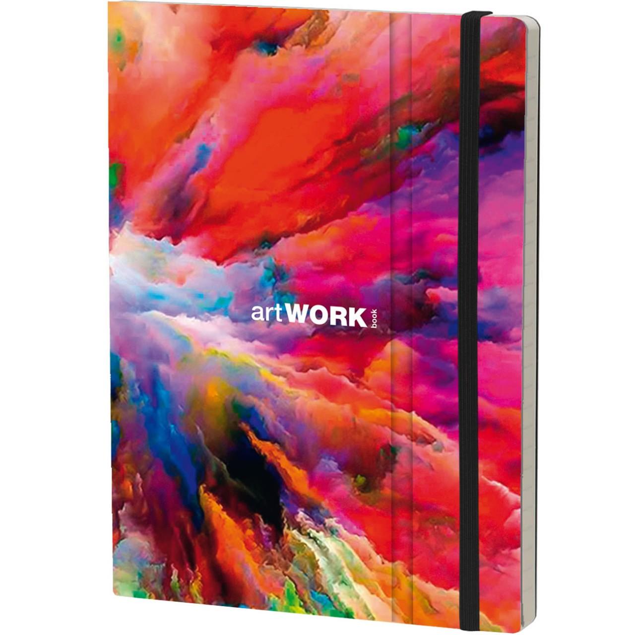 Stifflex Notizbuch ARTWORK BOOK 15 x 21 cm 192 S., CLOUD SPLASH
