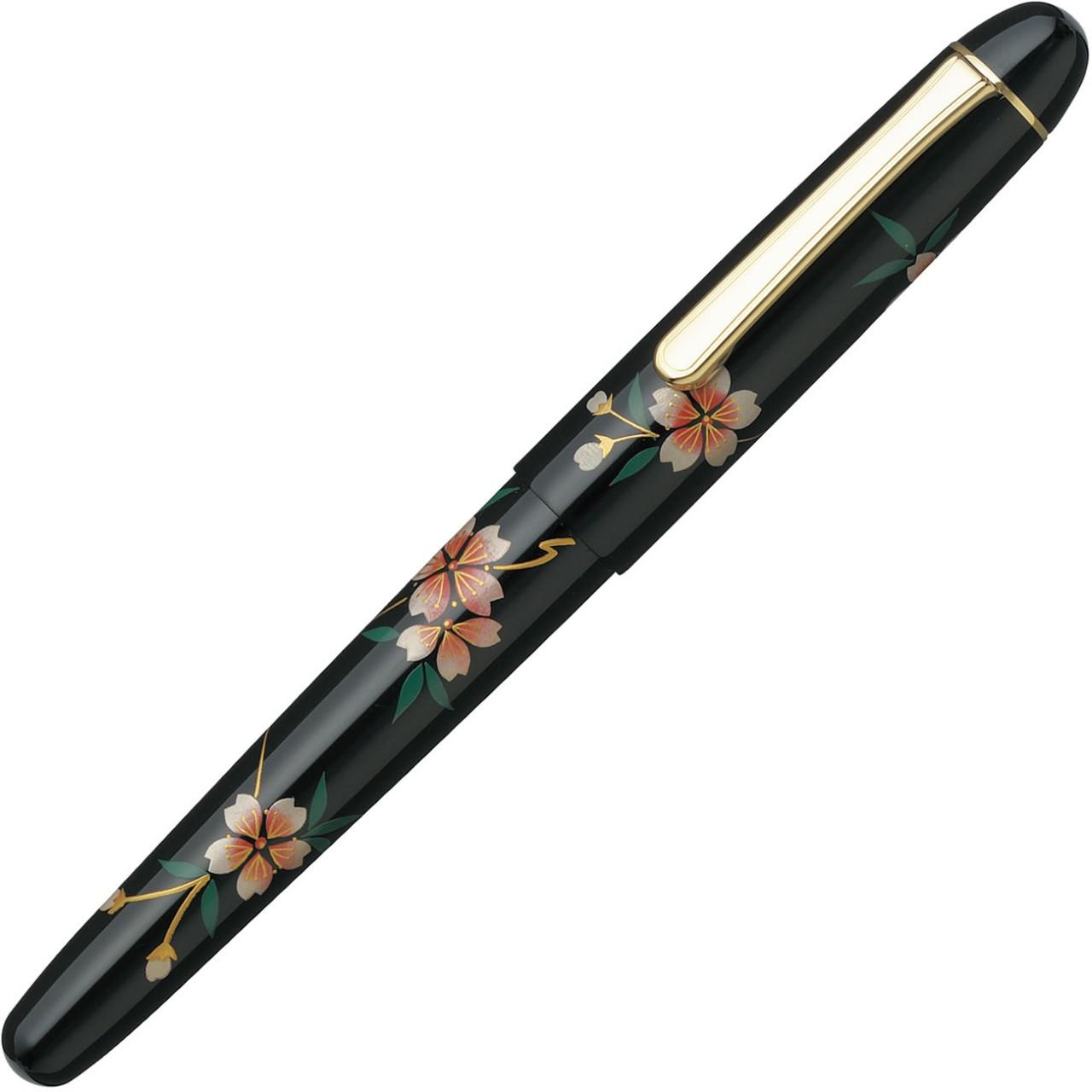 Platinum #3776 Century 'Kaga' Hira Maki-e Sakura FH F