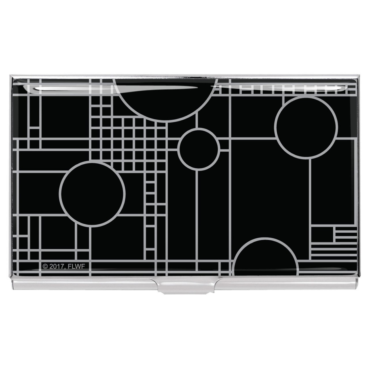 ACME 'PLAYHOUSE BLACK' Frank Lloyd Wright Card Case