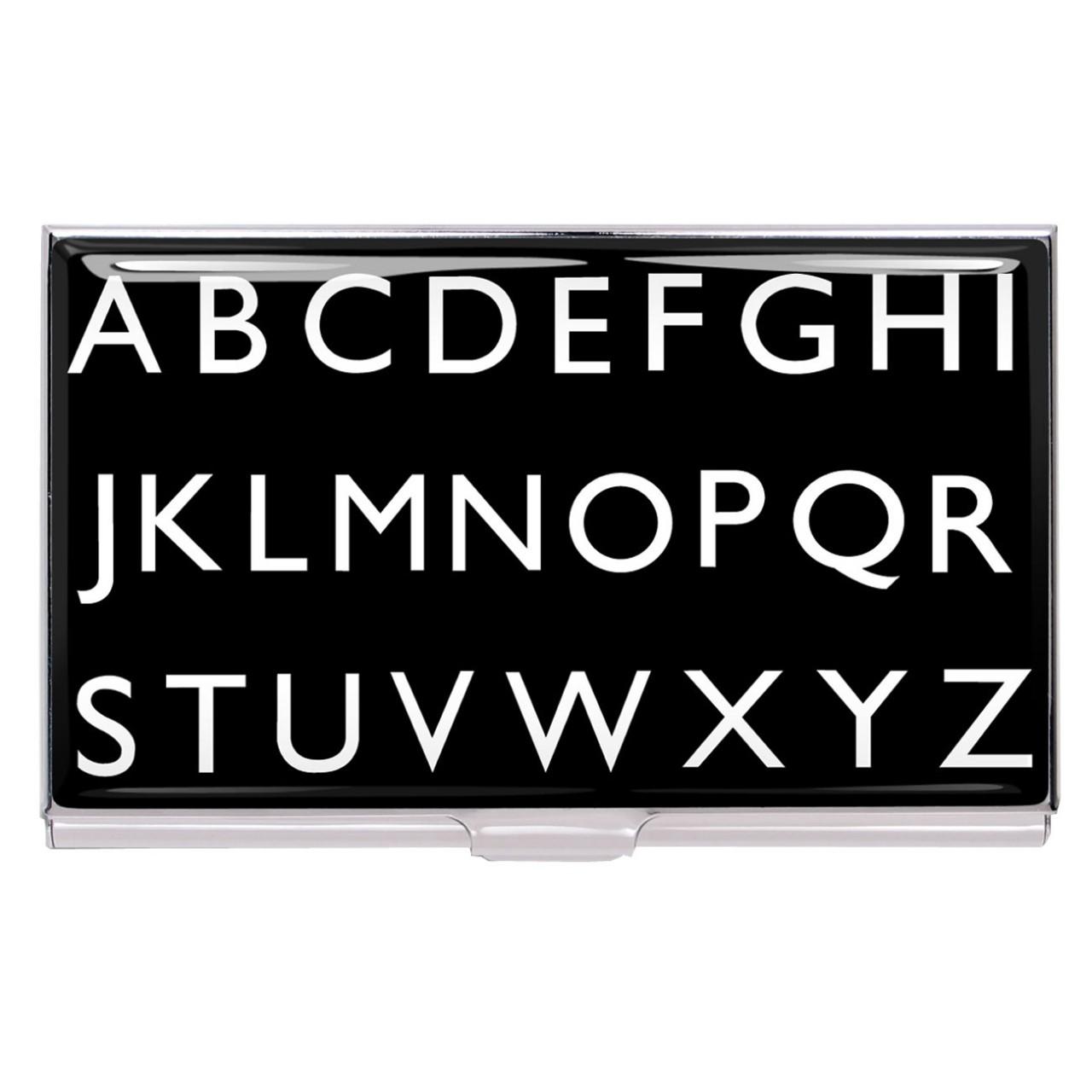 ACME Alphabet Card Case
