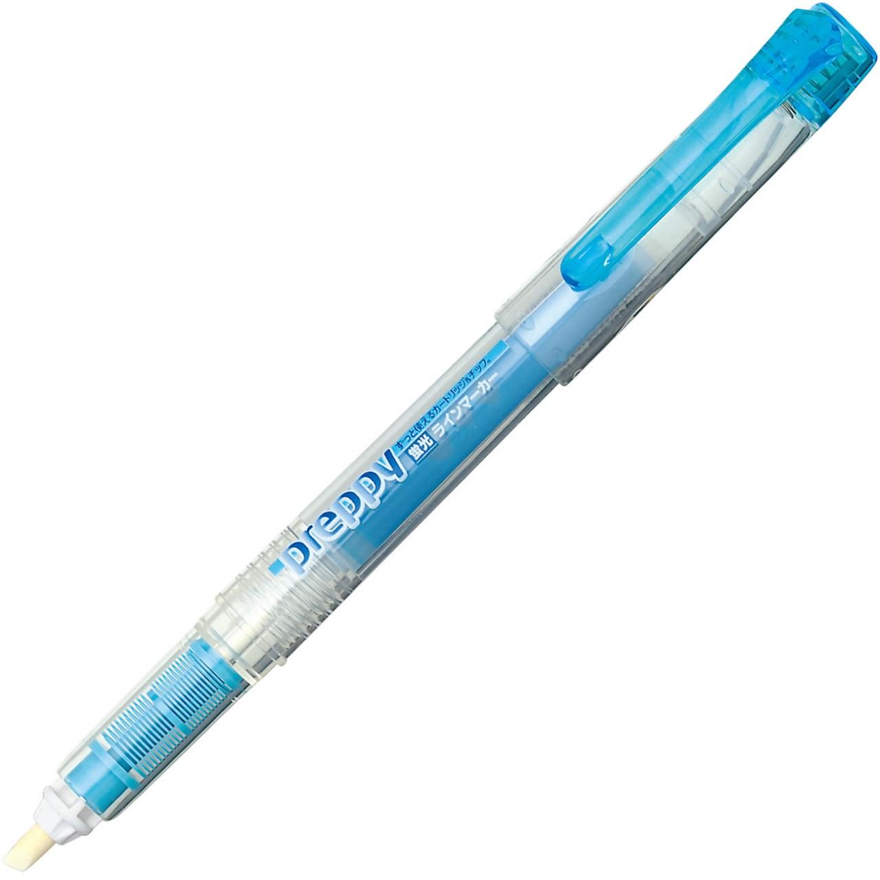 Platinum Preppy refillable Highlighter  Blue