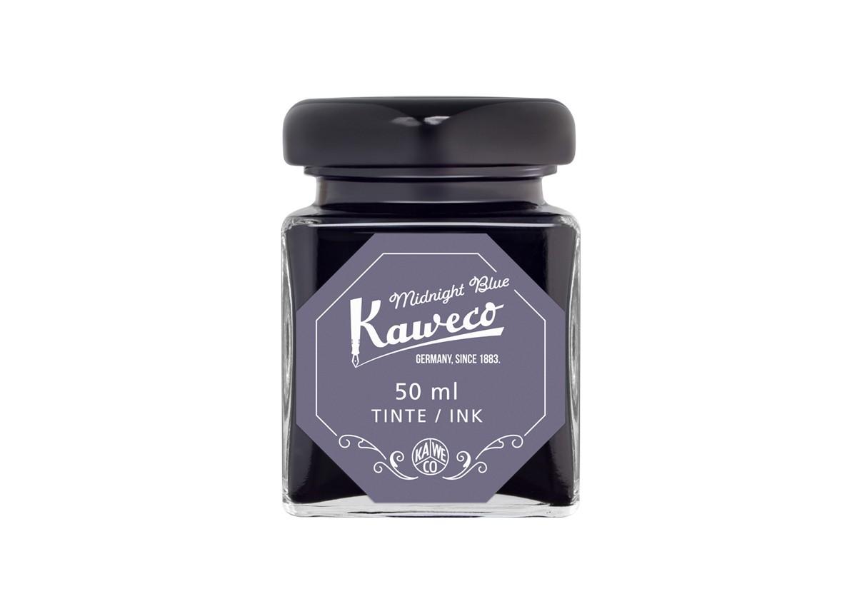 Kaweco Tintenglas 50 ml mitternachtsblau