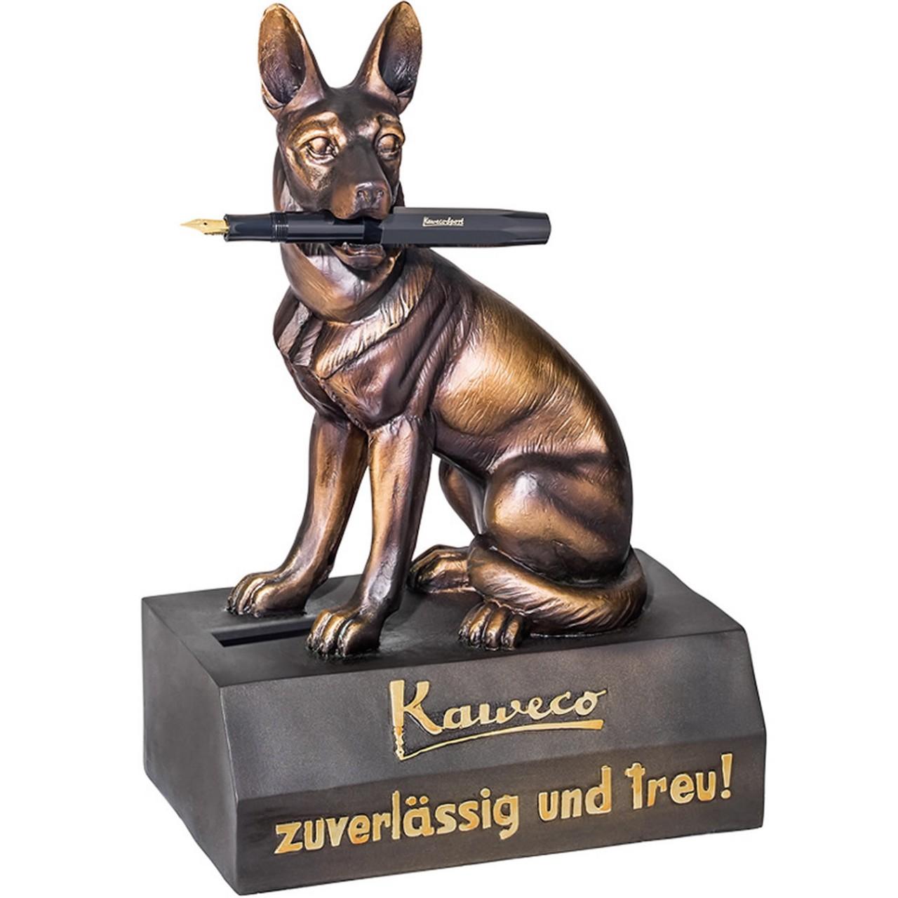 Kaweco Schäferhund Stiftehalter & Spardose