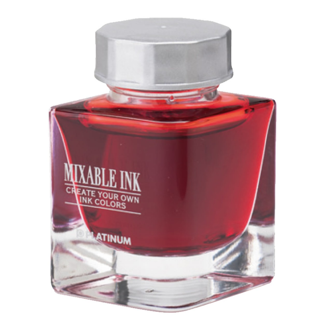 Platinum Dyestuff 'Mixable' bottle ink 20cc Flame Red