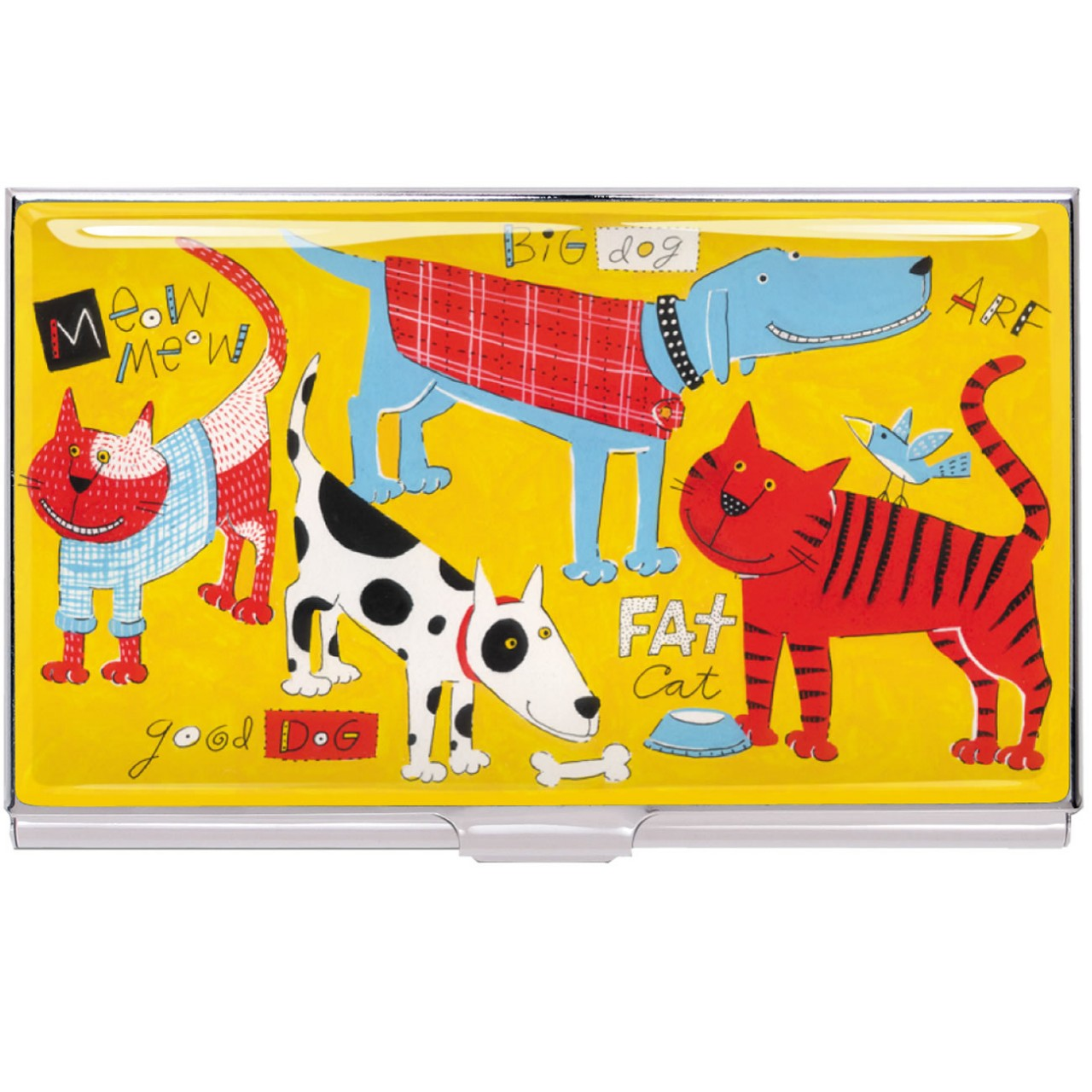 ACME Cats and Dogs Card Case