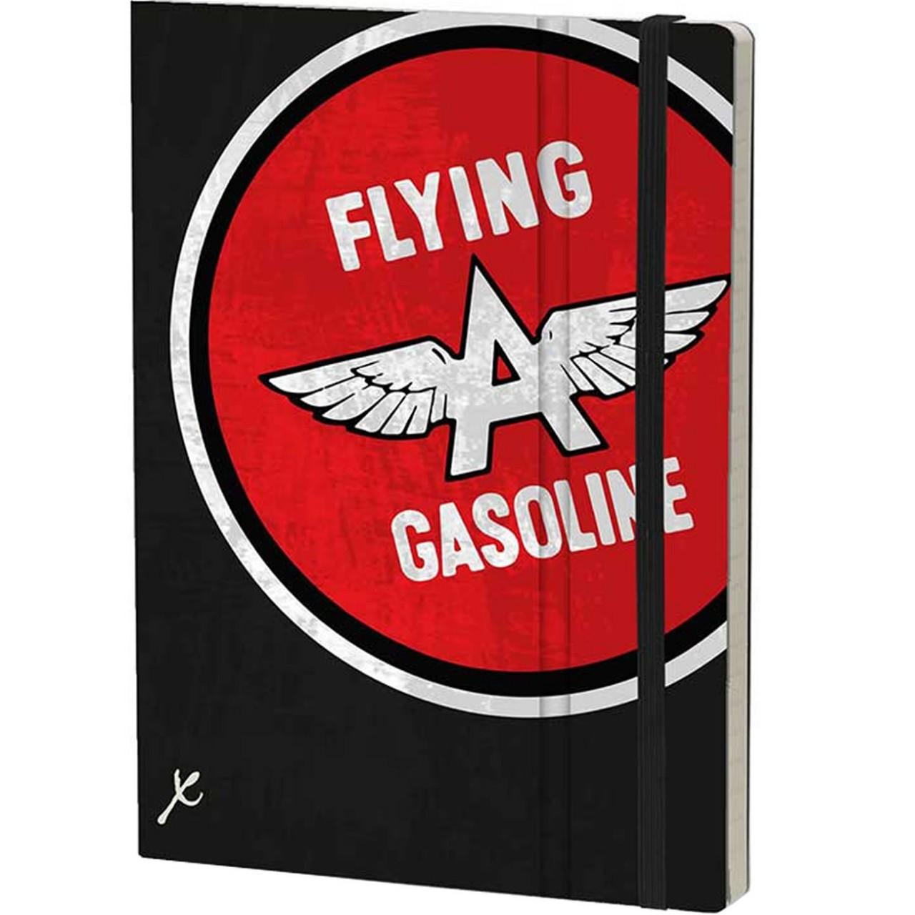 Stifflexible Notizbuch GASOLINE 15 x 21 cm 192 S., FLYING