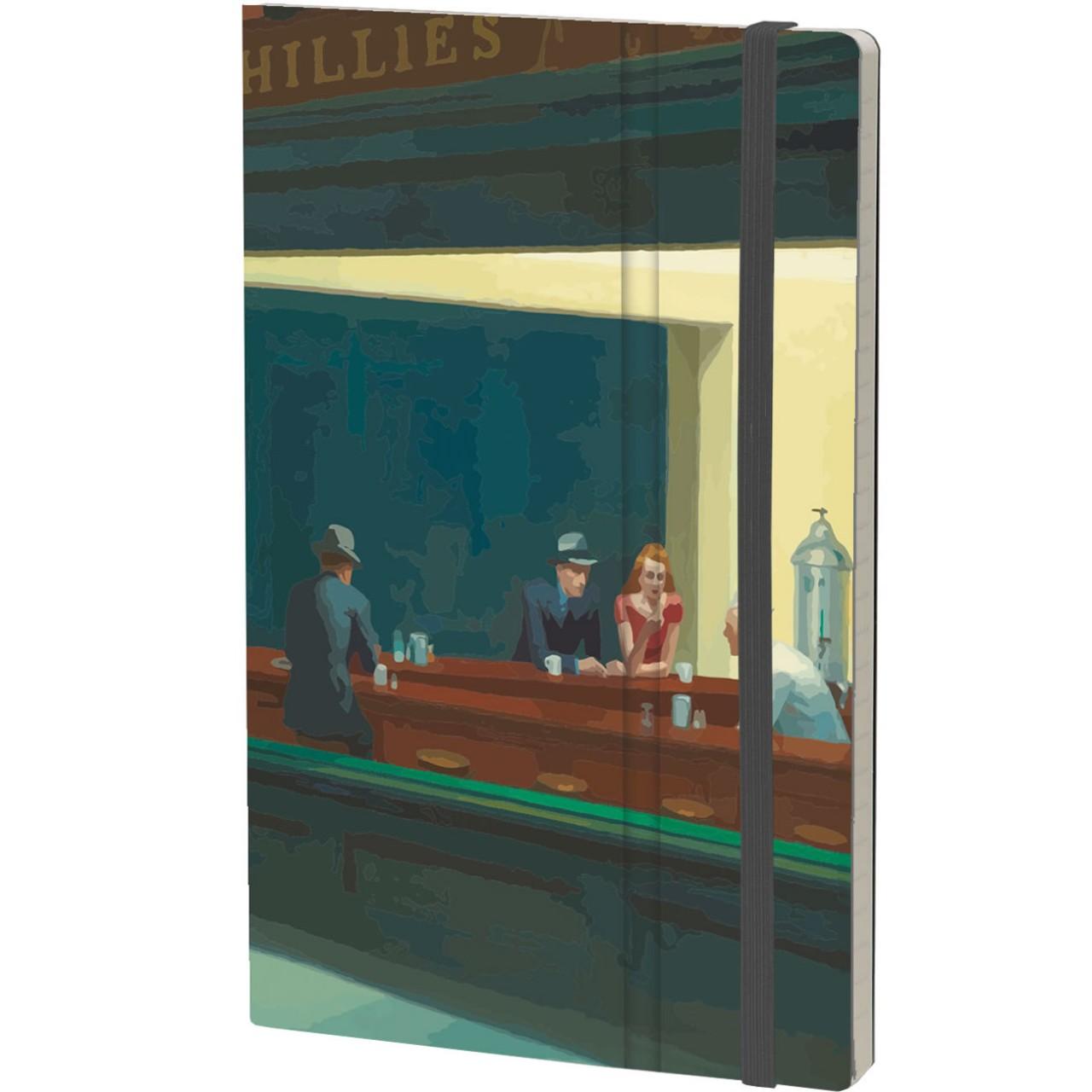 Stifflex Notizbuch ART 13 x 21 cm 192 S., HOPPER