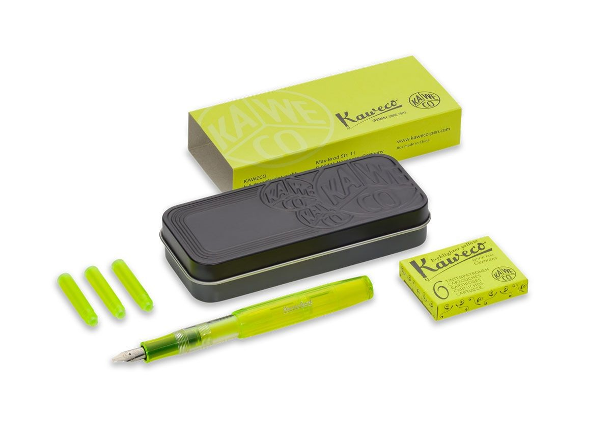 Kaweco Highlighter Set Neongelb