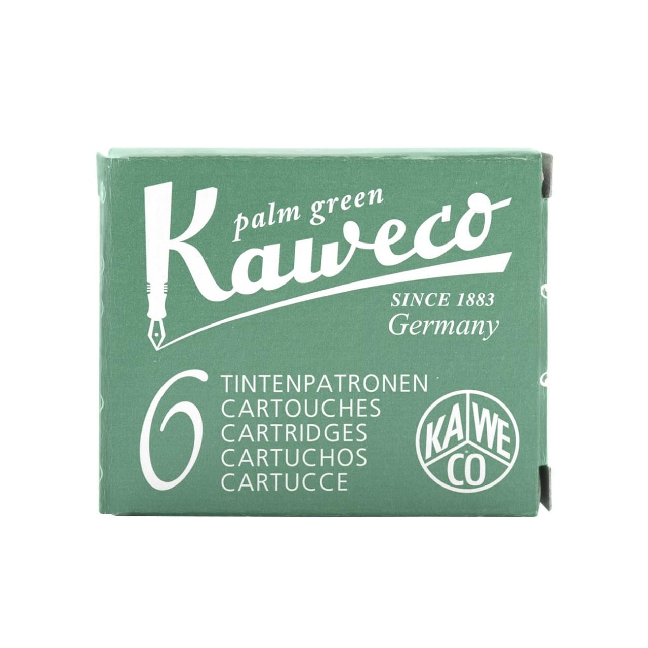 Kaweco Tintenpatronen 6 Stück palmengrün VE=20 Pack