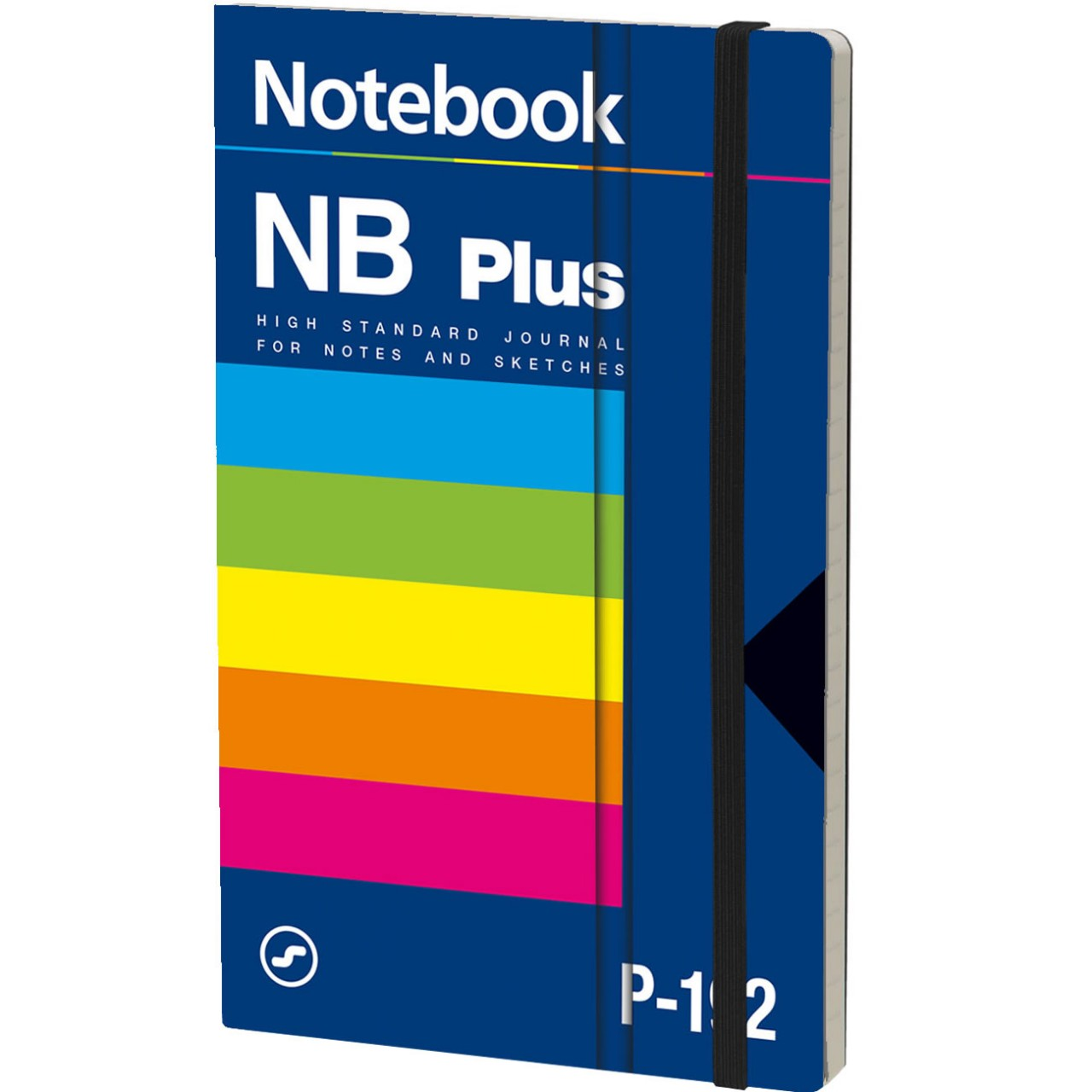 Stifflex Notizbuch VHS 13 x 21 cm 192 S., POLAR PLUS