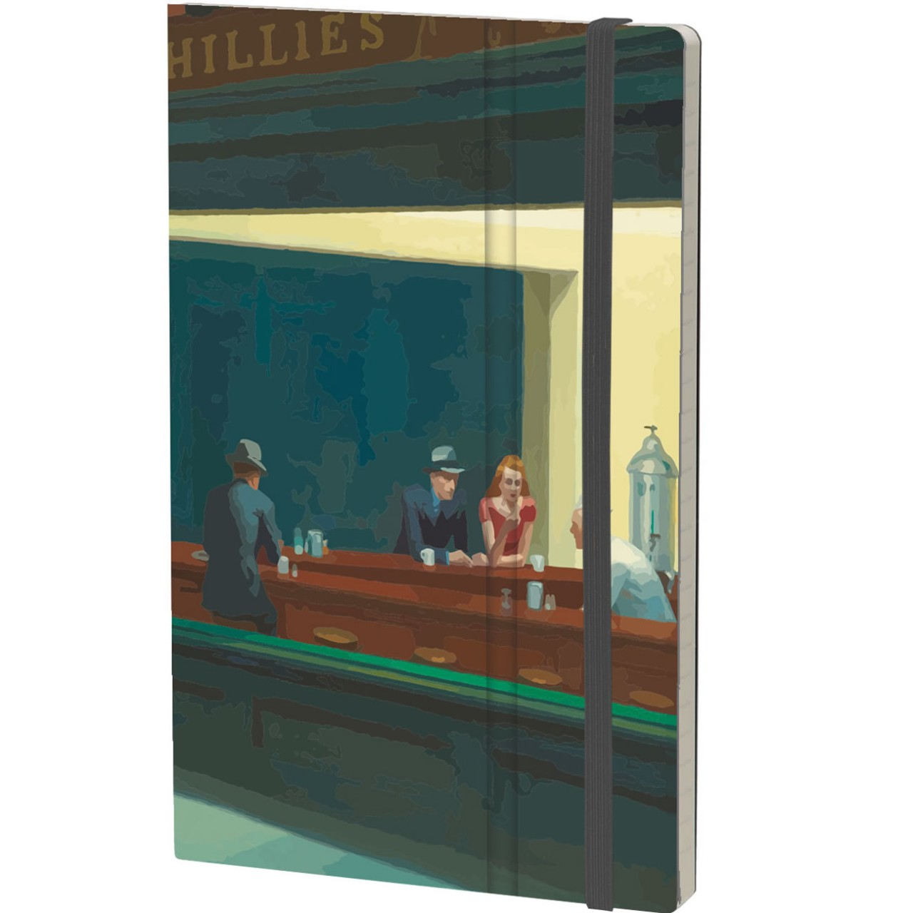 Stifflex Notizbuch ART 9 x 14 cm 144 S., HOPPER