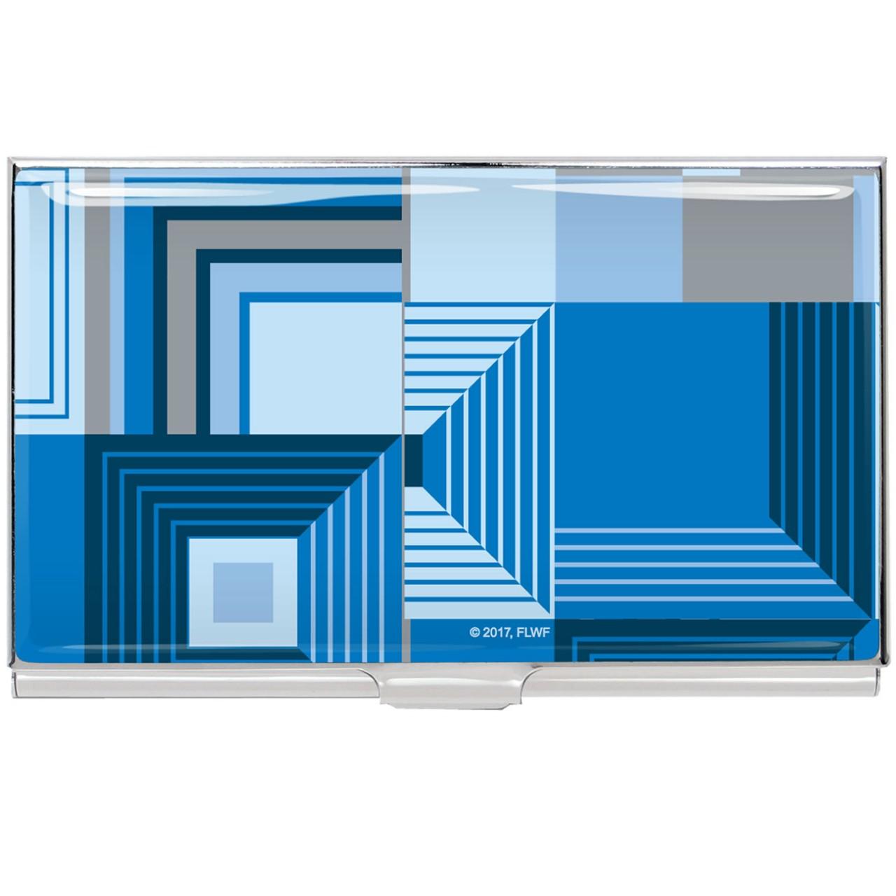 ACME 'BILTMOR BLUE' Frank Lloyd Wright Card Case