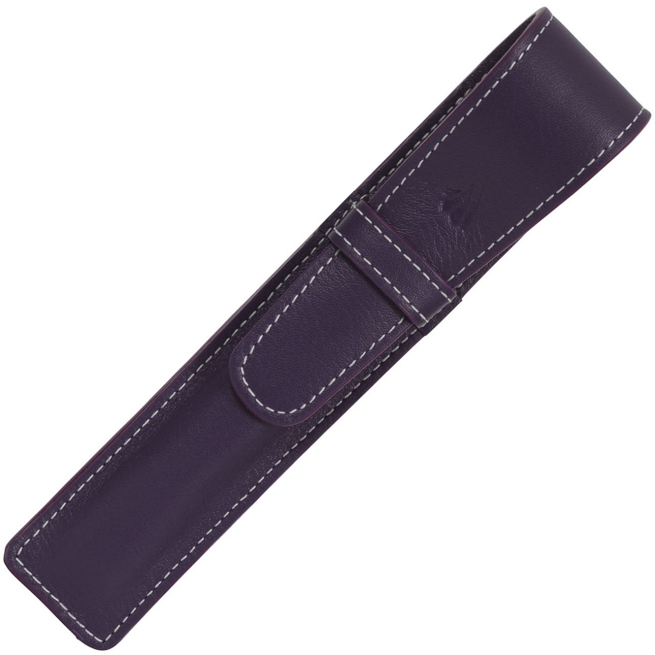 LARGE SOFT PEN POUCH WITH FLAP * RIVIERA PURPLE