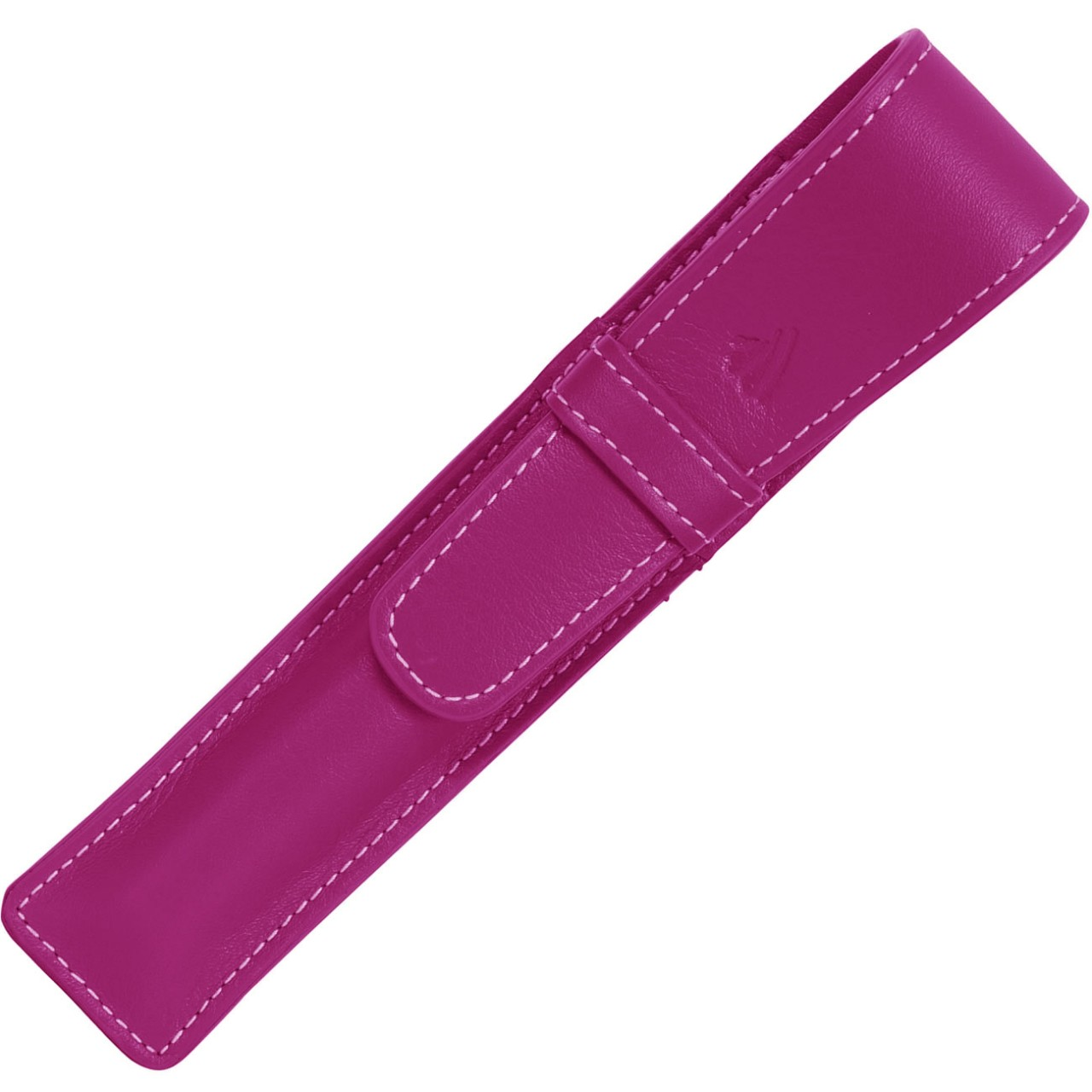 LARGE SOFT PEN POUCH WITH FLAP * RIVIERA MAGENTA