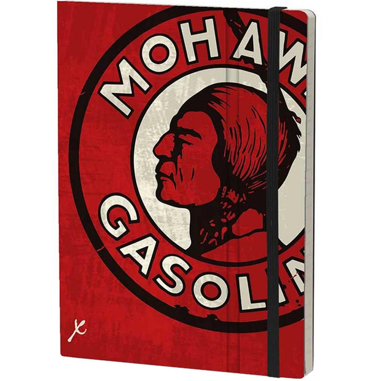 Stifflexible Notizbuch GASOLINE 15 x 21 cm 192 S., MOHAWK
