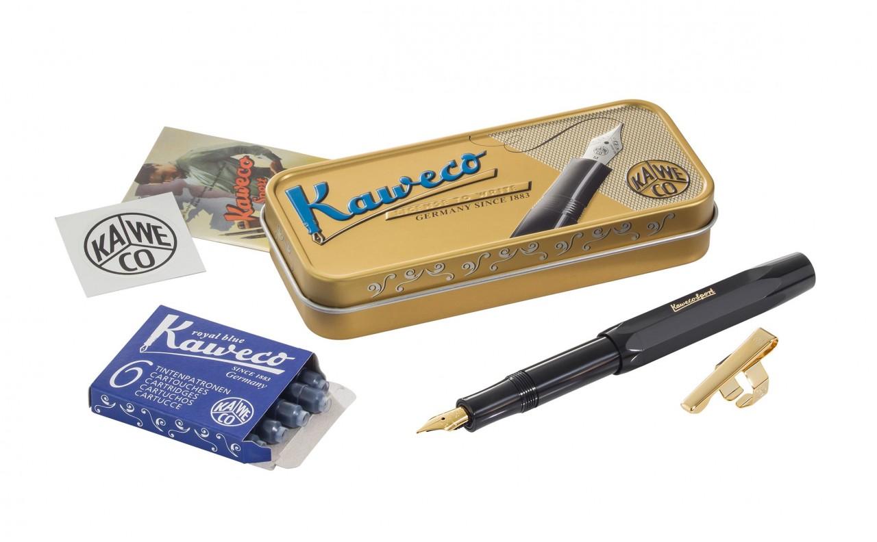 Kaweco CLASSIC SPORT schwarz i.d.Dose konfektioniert
