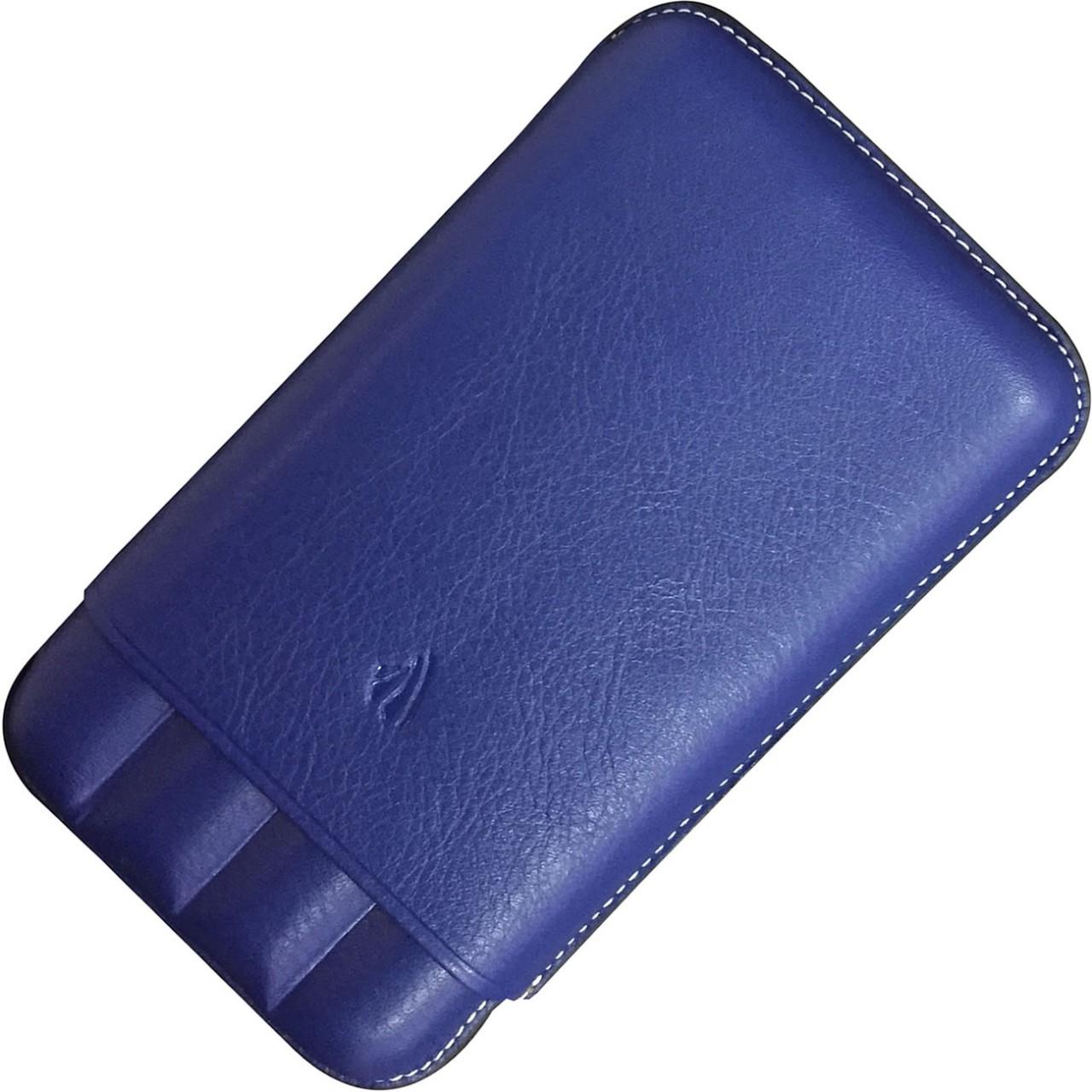 COLLECTOR 4-PEN CASE * RIVIERA BLUE