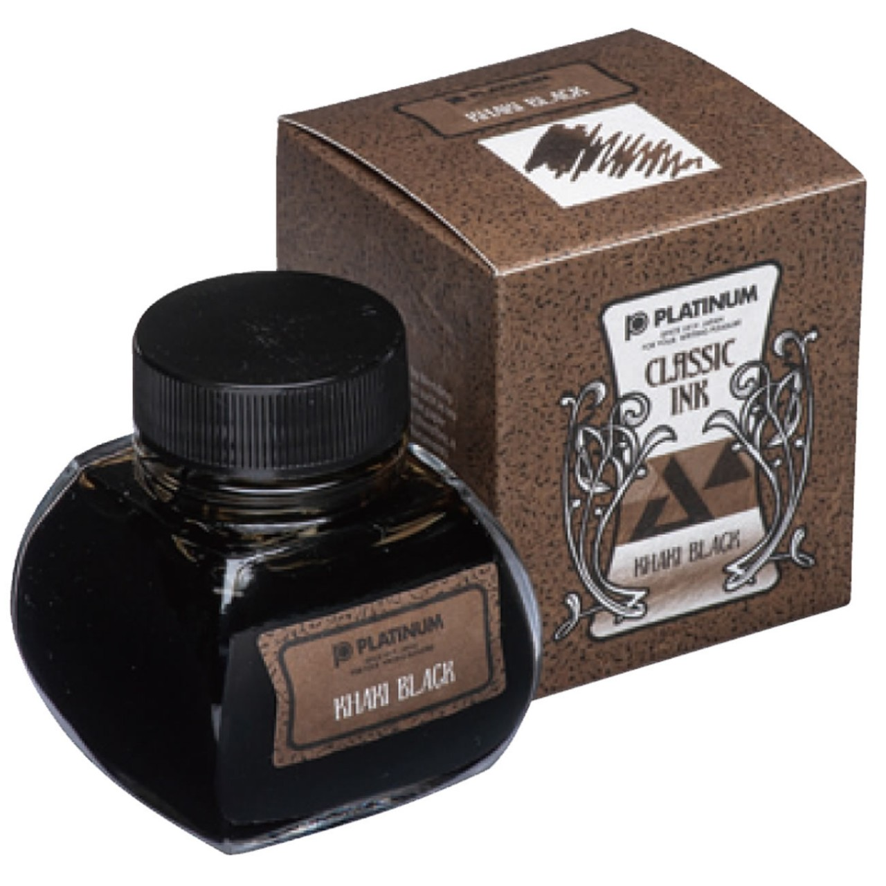 Platinum Dyestuff 'Classic Ink' Khaki Black