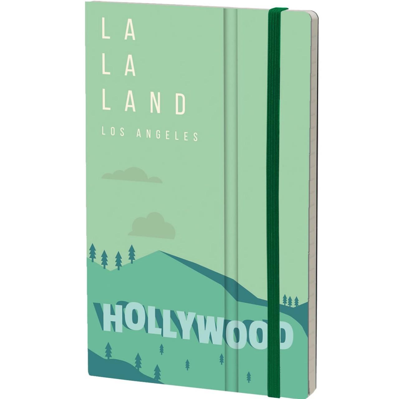 Stifflex Notizbuch ALIAS 13 x 21 cm 192 S., LOS ANGELES