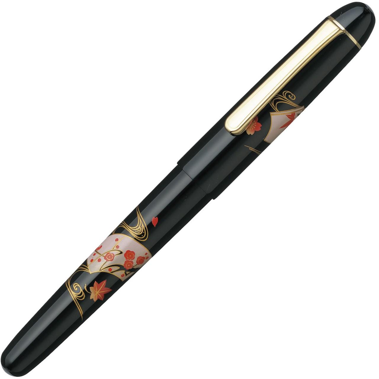 Platinum #3776 Century 'Kaga' Hira Maki-e Semmen FH B