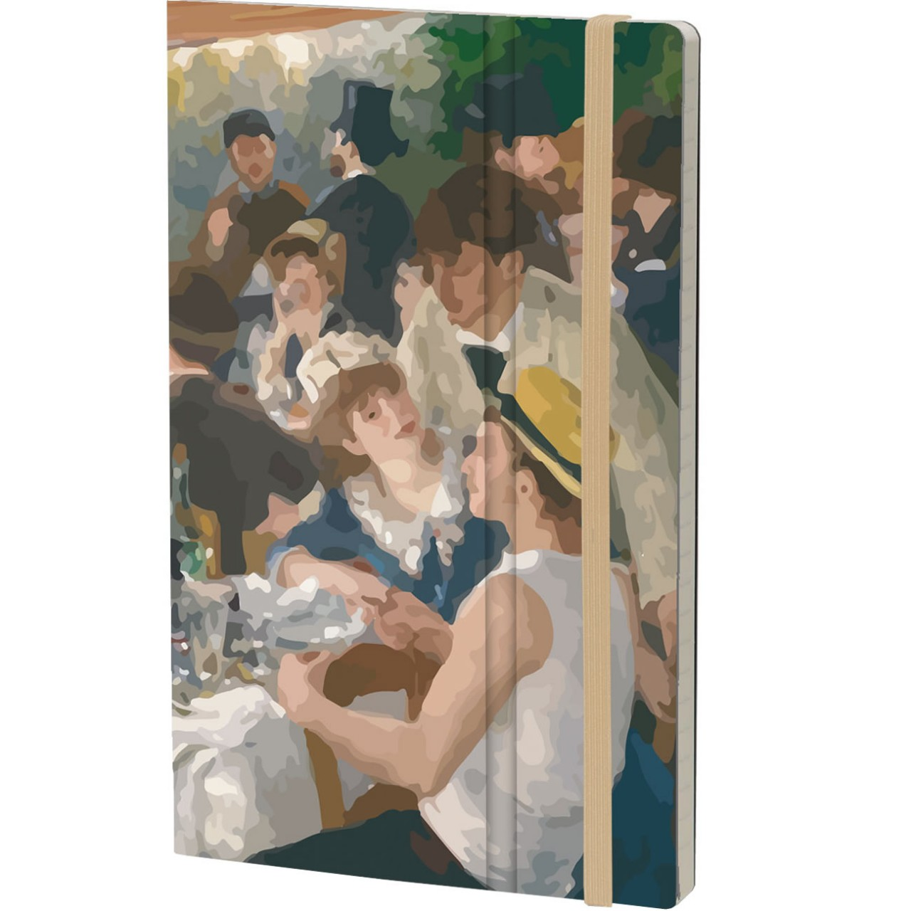 Stifflex Notizbuch ART 13 x 21 cm 192 S., RENOIR
