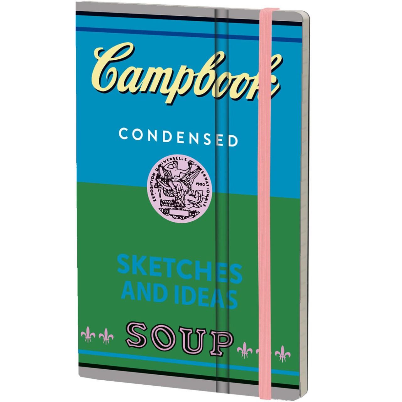 Stifflexible Notizbuch CAMPBOOK 13 x 21 cm 192 S., SKETCHES AND IDEAS
