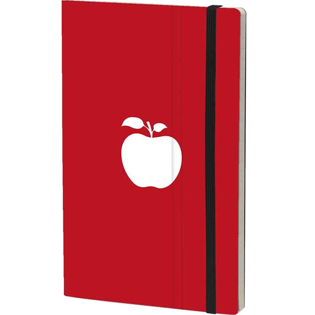 Stifflexible Notizbuch FRESH FRUIT 13 x 21 cm 192 S., APPLE