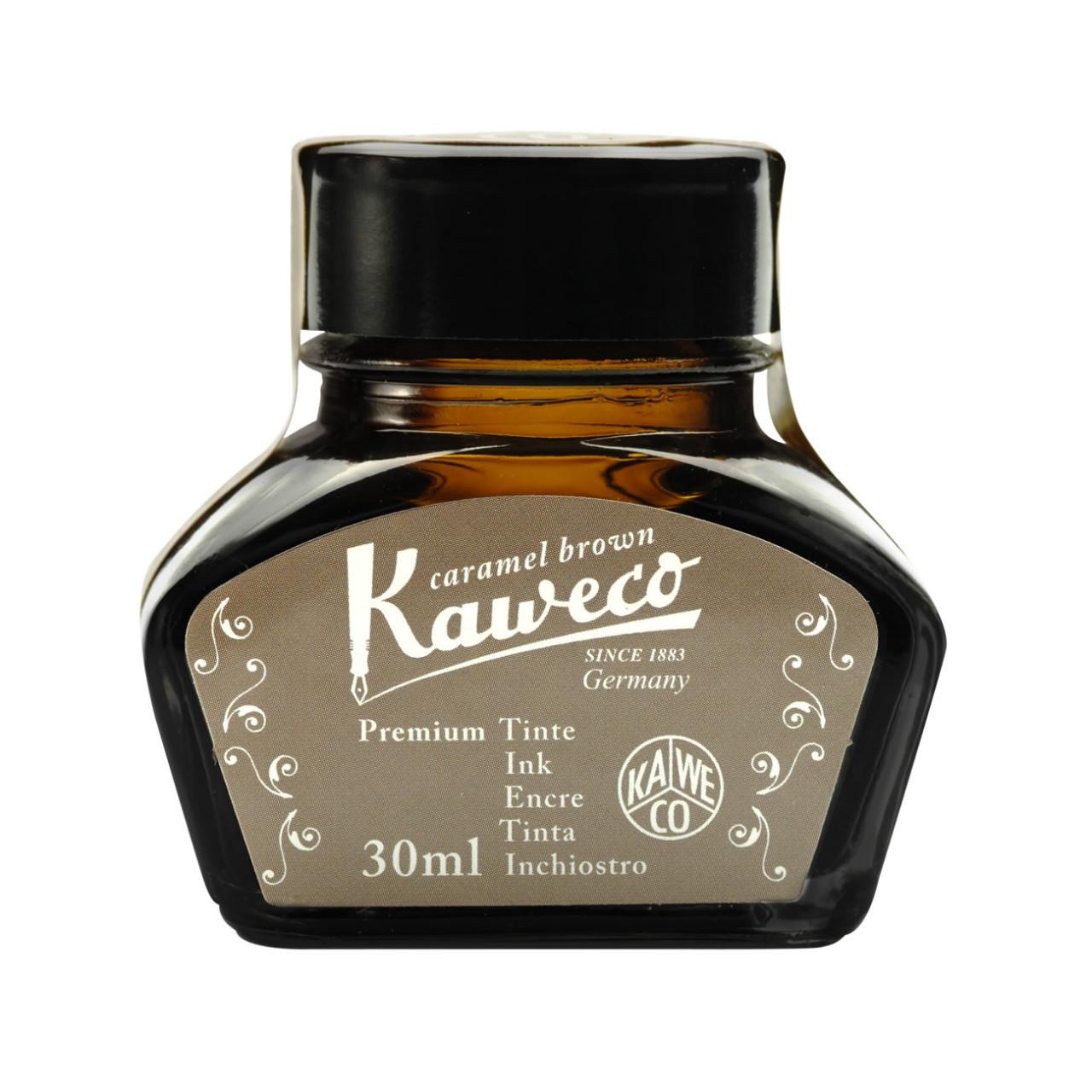 Kaweco Tintenglas 30 ml caramelbraun