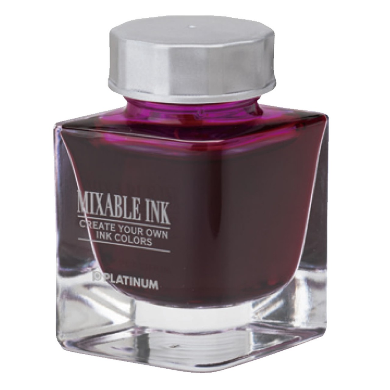 Platinum Dyestuff 'Mixable' bottle ink 20cc Silky purple