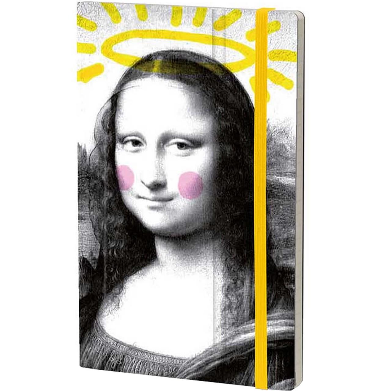 Stifflexible Notizbuch ART 9 x 14 cm 144 S., ANGEL