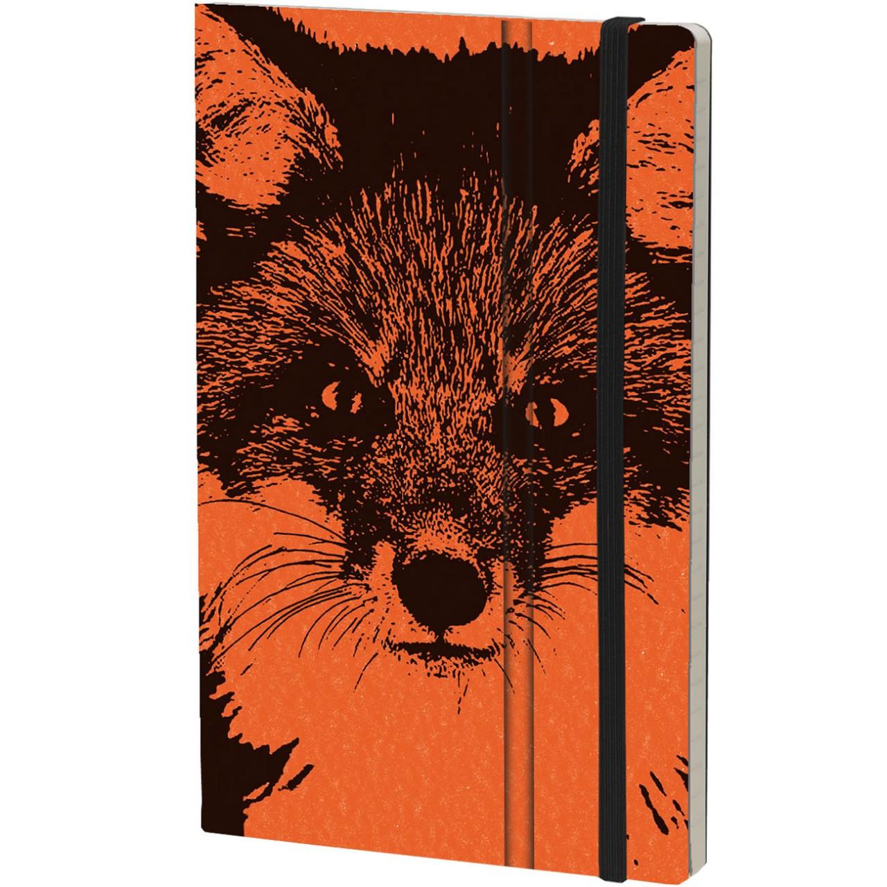 Stifflexible Notizbuch WILD PEARL 13 x 21 cm 192 S., FOX