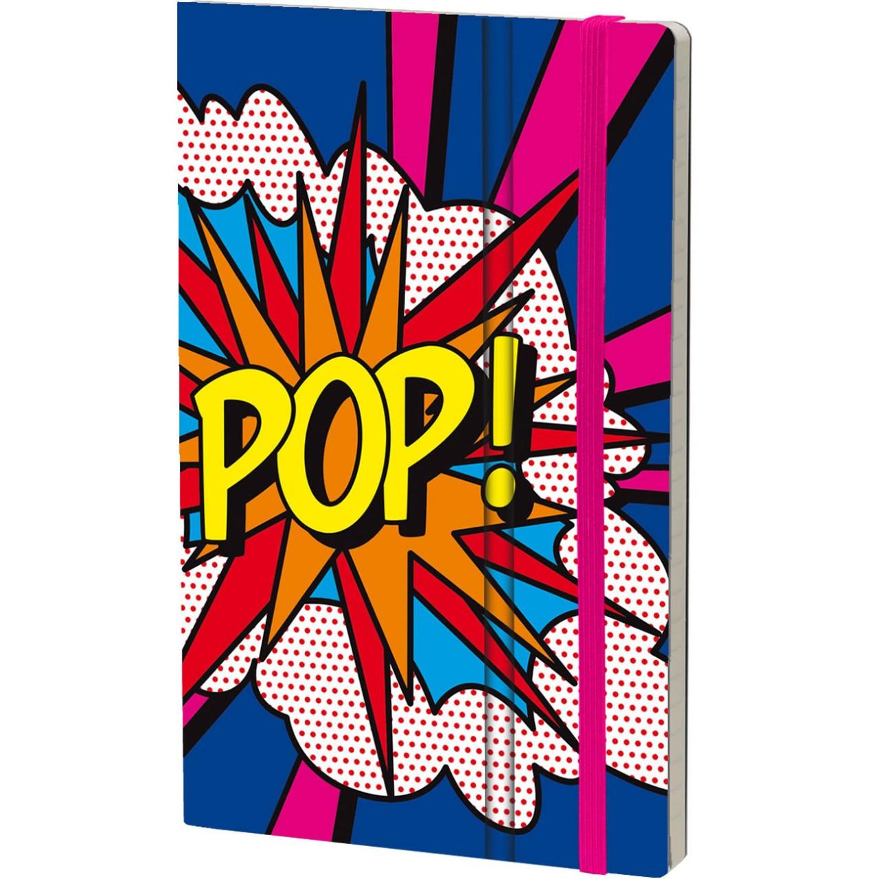 Stifflex Notizbuch POP 9 x 14 cm 144 S., POP