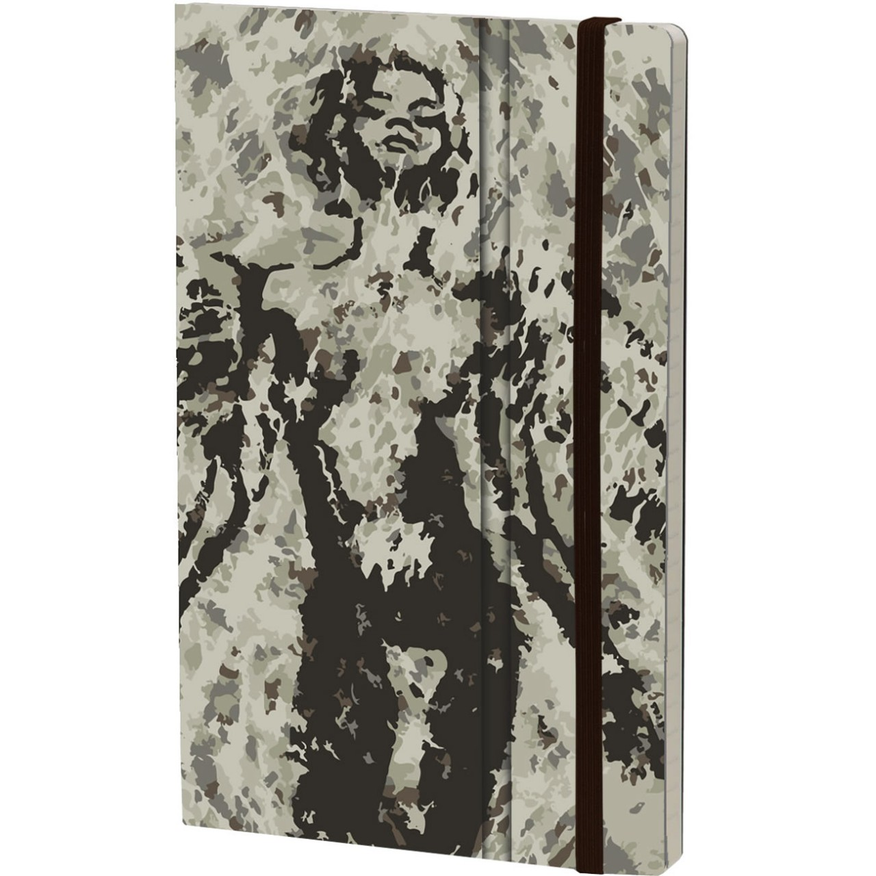 Stifflex Notizbuch PAINT - FRAGMENTATION 13 x 21 cm 192 S., ANGELO FURR
