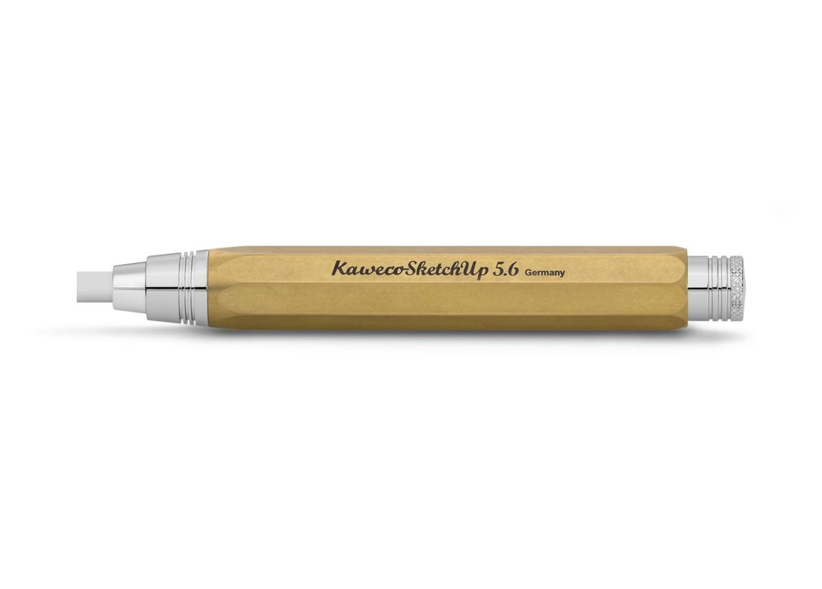 Kaweco SKETCH 5,6 mm 8-kant Corrector Messing roh